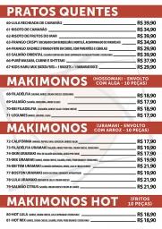 Restaurante Japonês em Olaria e na Vila da Penha. Um novo conceito em culinária japonesa. Rodízio, à la carte e delivery. Sushi, sashimi, temakis, combinados, gastronomia japonesa.